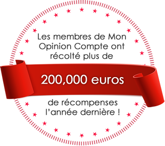 Les membres de Mon Opinion Compte ont récolté plus de 200,000 euros de récompenses l'année dernière !