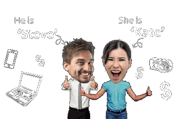 JOIN for FREE today,just like Steve & Kate!They take surveys and love the rewards they get!