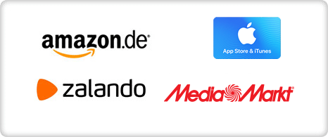 Amazon, iTunes, zalanro, mediamarkt
