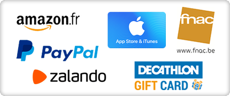Icône de chèque-cadeau de la marque - Site de sondages en ligne rémunérés